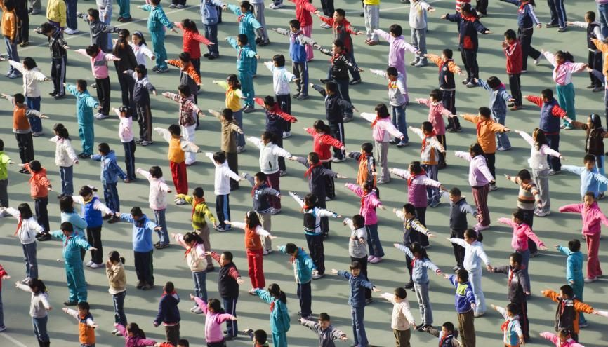 De nombreuses universités chinoises proposent aux étudiants étrangers des cursus dédiés à l'apprentissage de leur langue. //©Christian Kob/ Robertharding/ Plainpicture