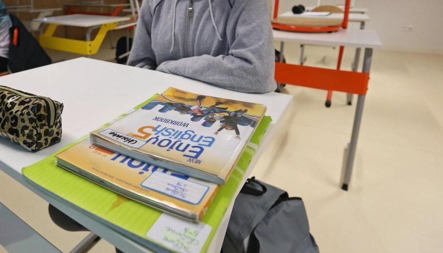 Avec le nouveau protocole sanitaire,la limitation des classes à 15 élèves est terminée. //©Fred MARVAUX/REA