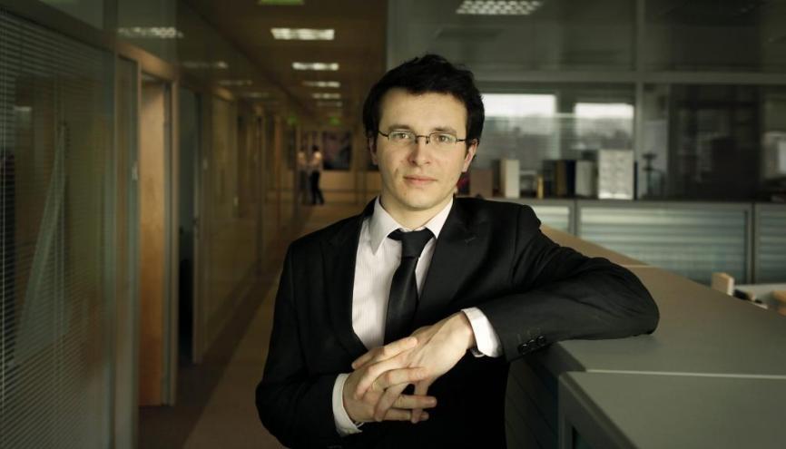 Mickaël Joguet, juriste environnement chez LVMH //©Remy Artiges