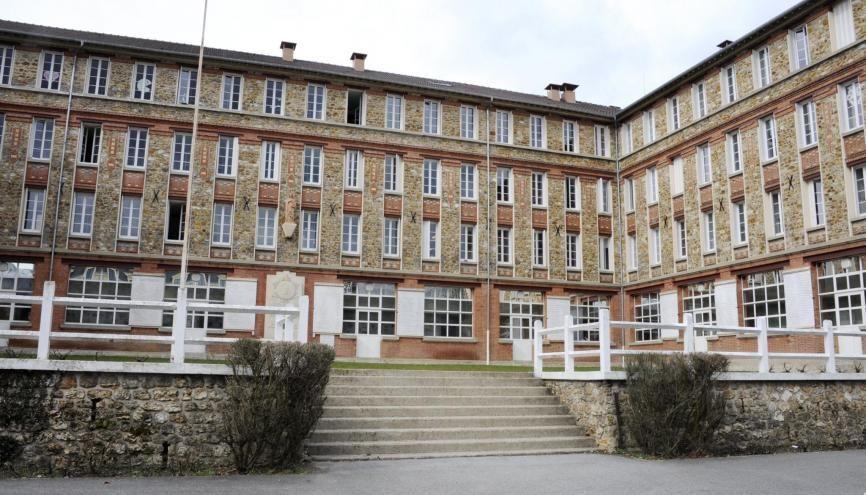 Le lycée privé Sainte Geneviève de Versailles est premier dans les filières PC. //©REA/Gilles ROLLE
