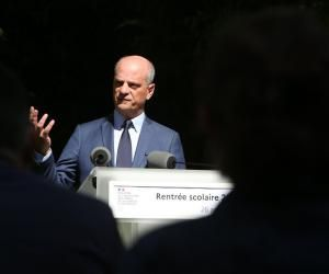 Jean-Michel Blanquer, le ministre de l'Éducation nationale.