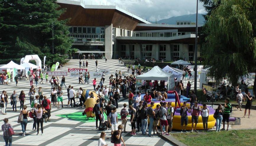 Journée festive pour la rentrée à l'université Grenoble Alpes //©Etienne Gless