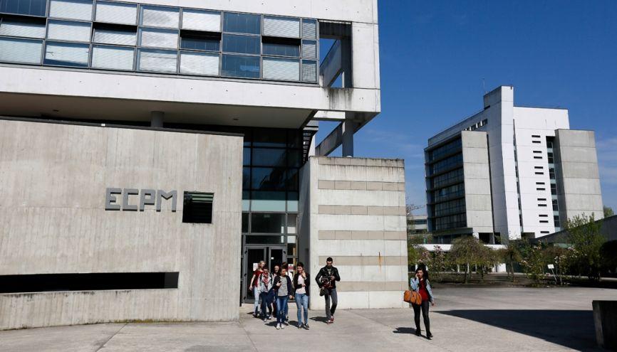 L'ECPM diplôme une centaine d'élèves ingénieurs chaque année, dont plus de la moitié sont des filles. //©Mathieu Cugnot / Divergence pour l'Etudiant