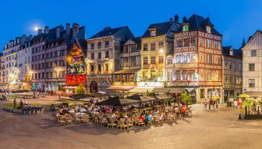 Rouen, Métropole dynamique et attractive //©Métropole Rouen Normandie