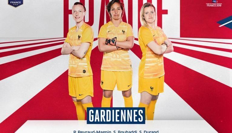 Equipe de France féminine les gardiennes