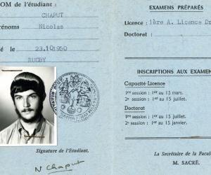 Nicolas Chaput était en terminale littéraire au lycée Ernest Perochon de Parthenay lors des évènements de mai 68.