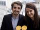 Eva Sadoun, 25 ans, co-fondatrice de la start-up 1001pact avec Julien Benayoun, 26 ans. //©Photo fournie par les témoins