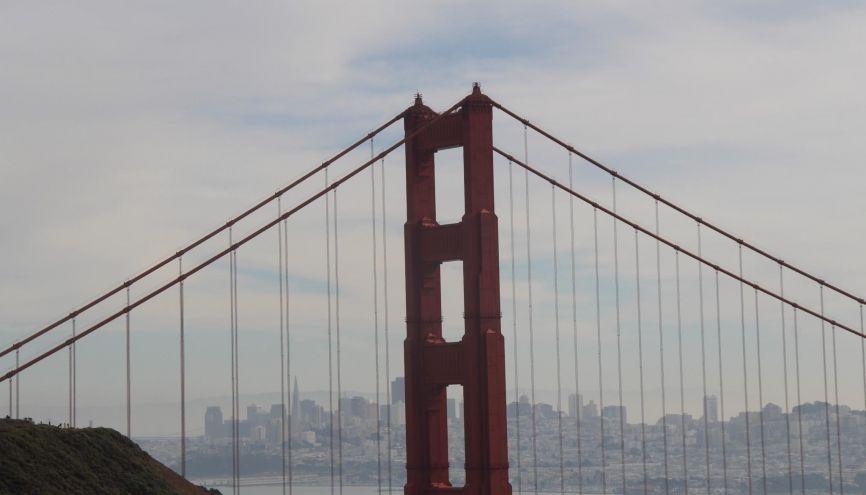 À l'ombre du Golden Gate, les jeunes entrepreneurs rêvent de monter leur start-up. //©Ysis Percq