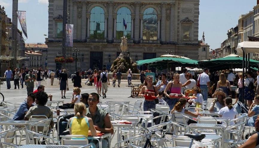Montpellier déroule le tapis rouge pour accueillir ses étudiants. //©iStockphoto