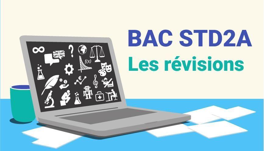 Bac STD2A - Les révisions //©Juliette Lajoie