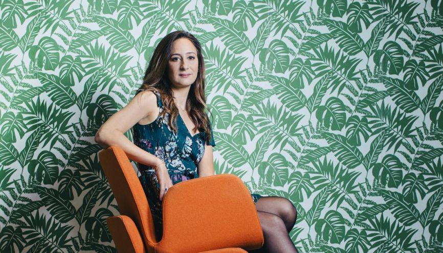 À 19 ans, Céline Lazorthes a quitté Toulouse, sa ville natale, pour intégrer l'école d'informatique EPITA. Elle savait déjà qu'elle participerait à l'aventure Internet. //©Audoin Desforges pour l'Etudiant