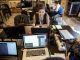 Hackathon organisé à l'Elysée lors de l'annonce de la grande école du numérique, en septembre 2015. //©RGA/REA