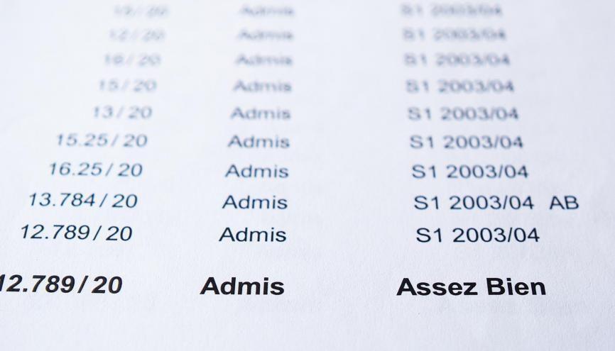 Le barème pour obtenir votre bac et vos mentions restera inchangé après l'application de la réforme du bac. //©Adobe Stock/Tomfry