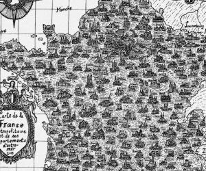 Pablo, étudiant de 19 ans, a réalisé une carte de l'Hexagone qui a crée un énorme buzz sur Twitter.