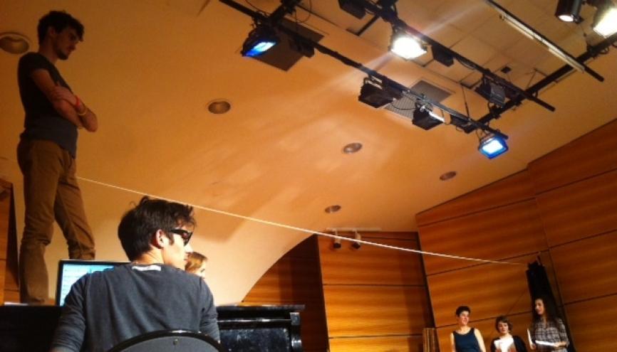 Cours d'Art dramatique.Cursus Arts de la scène. Conservatoire du 9e // ©I. Maradan //©Isabelle Maradan