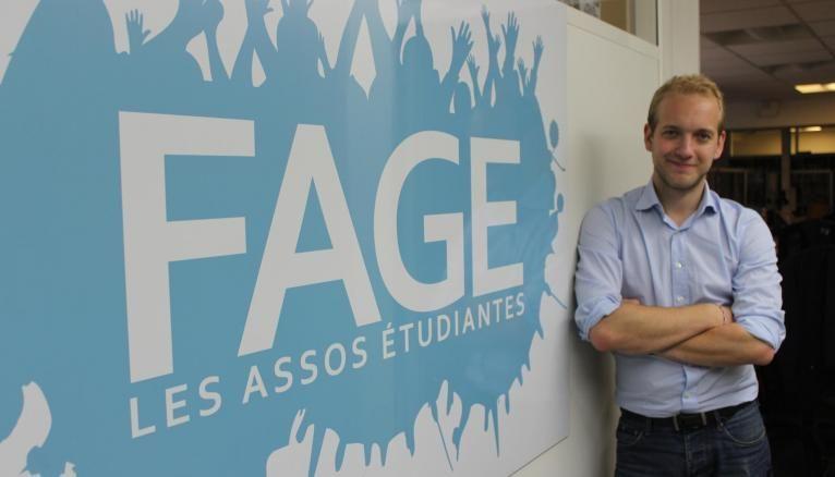 Jimmy Losfeld a été élu président de la FAGE le 24 septembre 2016.