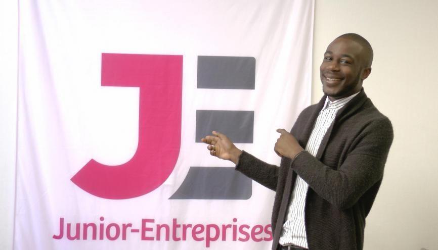 Samuel, étudiant à l'ICN Business School et junior-entrepreneur. //©Etienne Gless