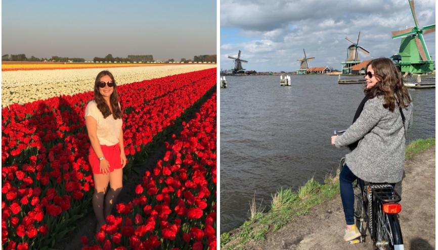 Après un an passé aux Pays-Bas, Juliette en connait tous les plus beaux endroits. //©Photos fournies par le témoin