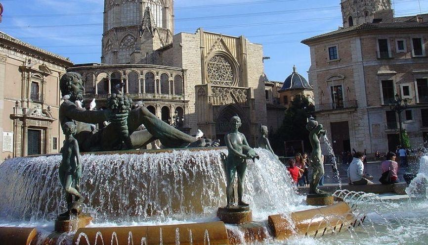 La ville de Valence, en Espagne, est plébiscitée par les étudiants Erasmus+. //©Michel Buze