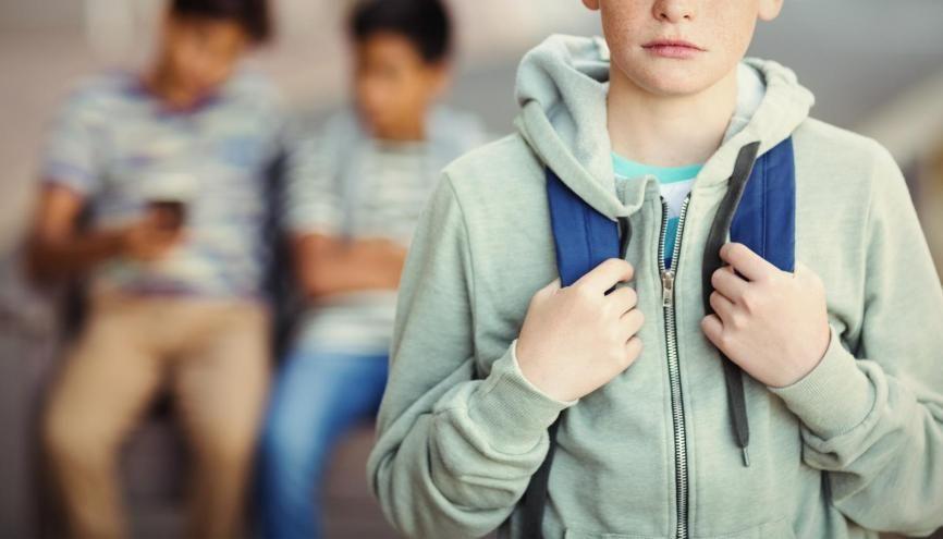 Selon une étude, près de 43% des jeunes de 12 à 16 ans souffriraient de solitude. //©Adobe Stock/vectorfusionart