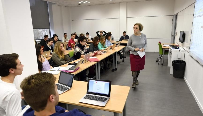 Le campus de Saint-Étienne de l'EM Lyon. //©PHILIPPE SCHULLER/EM Lyon