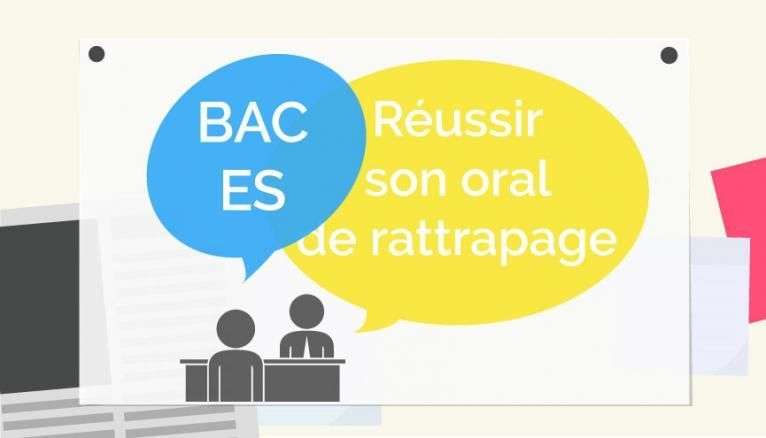 Bac ES - Oral de rattrapage