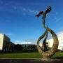 Université de Caen : le phénix renaissant de ses cendres, symbole de l'UCBN // © Sandrine Chesnel