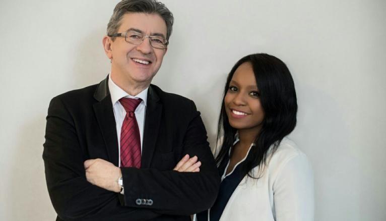 Sarah, 24 ans, docteur en droit et porte-parole nationale de Jean-Luc Mélenchon, est aussi championne du monde 2015 de kick boxing.