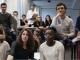 Des élèves issus de la Chance pour la diversité dans les médias. //©Emile Costard