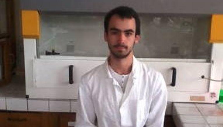 Florian, en deuxième année de pharma à Nancy.
