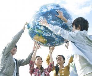 Le réchauffement climatique est l'un des grands enjeux internationaux qui préoccupe la jeunesse.