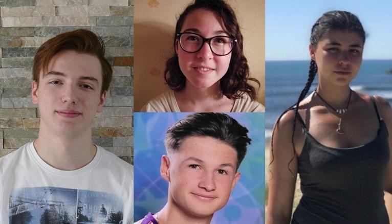 Corentin, Juliette, Mattéo et Marine racontent leur année de terminale.