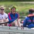 Marion est capitaine de l'équipe d'aviron du College Darwin. //©TakeaPuntCam