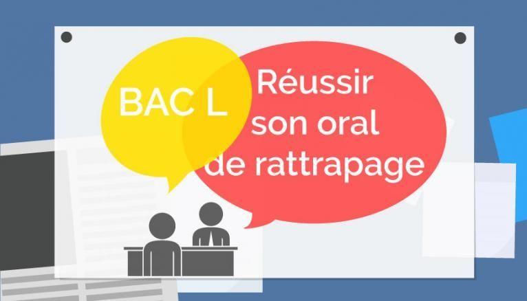 Bac L - Oral de rattrapage