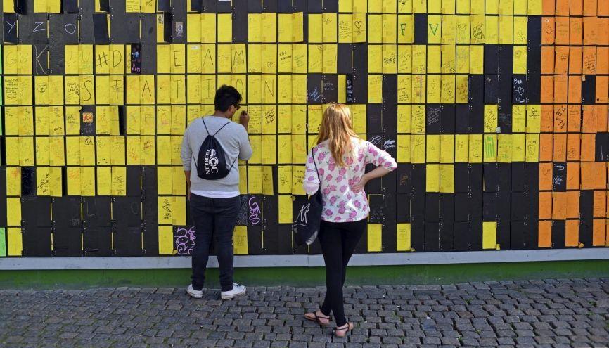 Beaucoup d'universités en Europe du Nord (ici Copenhague, au Danemark) proposent des cursus entièrement en anglais. //©Nano Calvo/ VWPics/ Redux-REA
