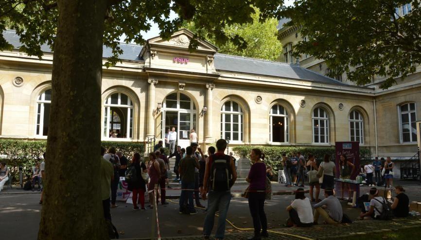 Les stagiaires de l'Espé de Paris ont fait leur rentrée le 29 août. //©erwin canard