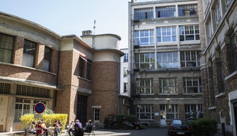 Le site parisien, proche du Quartier latin, rue Claude-Bernard, accueille les étudiants de deuxième année du cycle ingénieur.