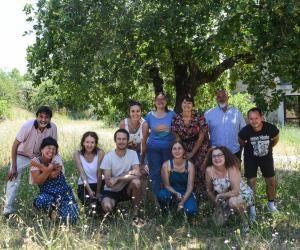 L'équipe encadrant les ateliers libres de l'ESAA