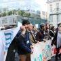Les étudiants ont participé aux manifestations organisées le 11 décembre contre l'austérité à l'université et dans la recherche (Paris)