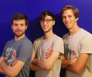 Jean-Régis, Victor et Bertrand, cofondateurs de Cariboo.co.