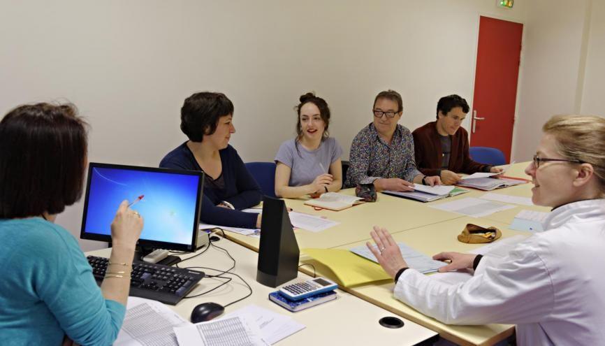 """Le conseil de classe """"est un bilan, cela n'a rien de démoniaque !"""". //©Marie-Pierre Dieterlé pour l'Etudiant"""