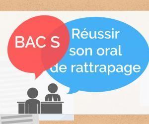 Bac S - Oral de rattrapage