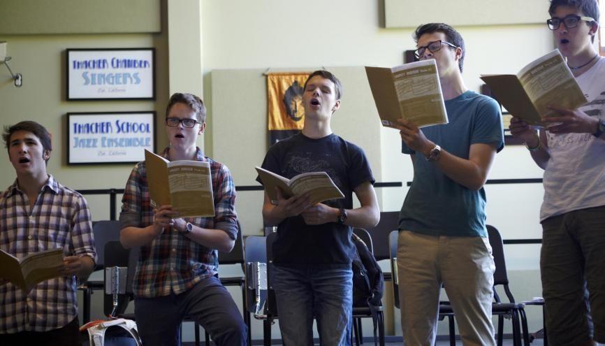 Les trois quarts des collèges publics environ comptent une chorale scolaire, selon le président de la FNCS. //©plainpicture/Ted Catanzaro