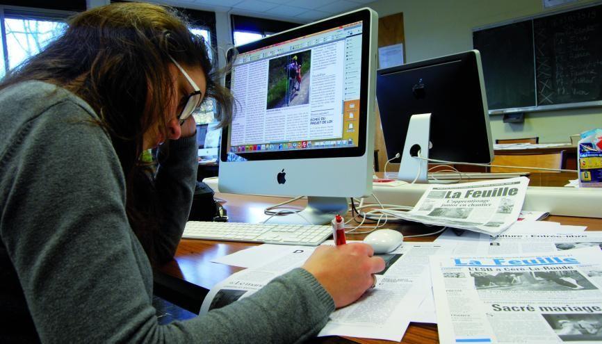 L'école publique de journalisme de Tours (37) va créer un master journalisme. //©Darrault/EPJT