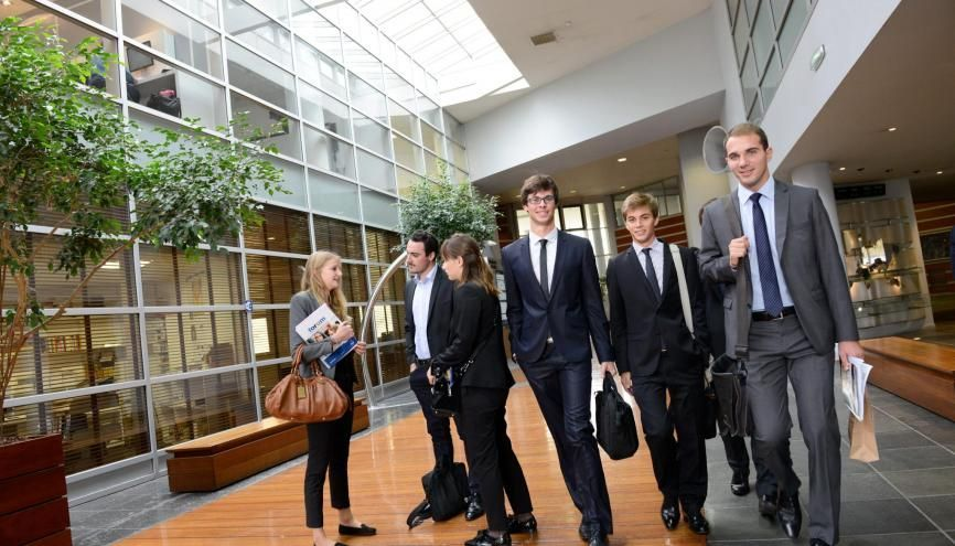 Audencia Business School propose six Mastères Spécialisés en droit, économie-gestion. //©Frédéric Senard/ Audencia