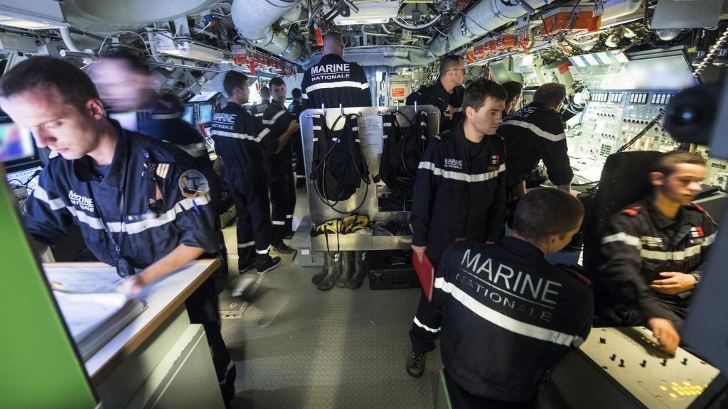 Intérieur d'un sous-marin de la Marine Nationale //©Marine nationale