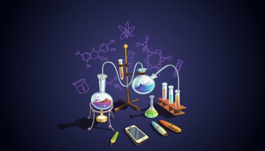 Voici le programme de la spécialité physique-chimie en première. //©Shutterstock