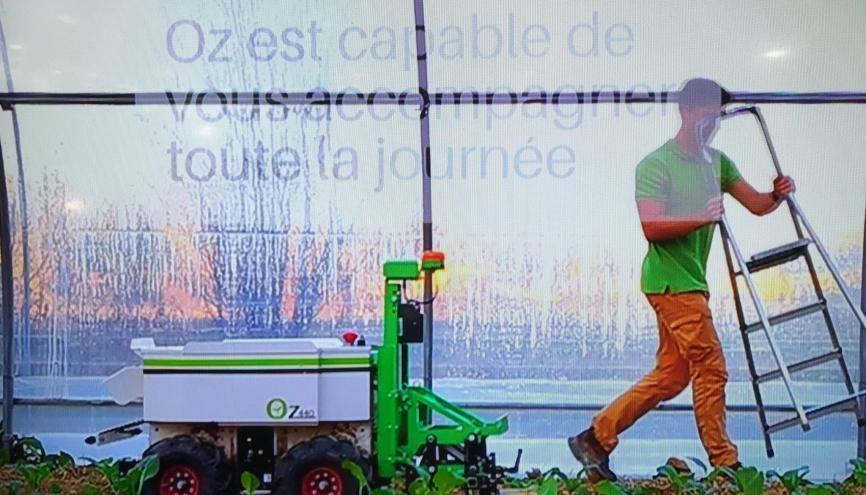 Créée par deux jeunes diplômés en robotique et informatique, la start-up Naïo conçoit des robots électriques agricoles qui se substituent aux désherbants chimiques. //©Etienne Gless