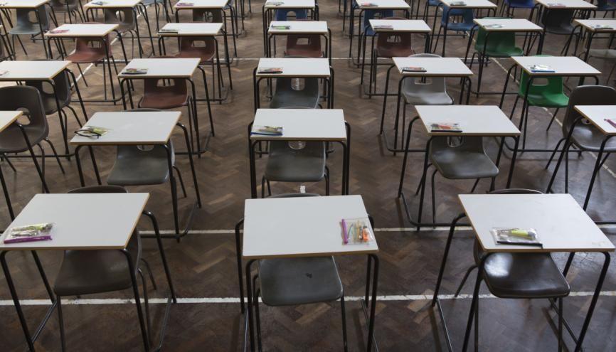 Les protocoles sanitaires dans les centres d'examens devront être soigneusement respectés. //©plainpicture/Stephen Shepherd