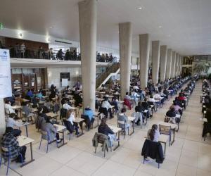 Pour protéger l'ensemble des étudiants, les règles sanitaires sont très strictes lors du concours de la PACES.